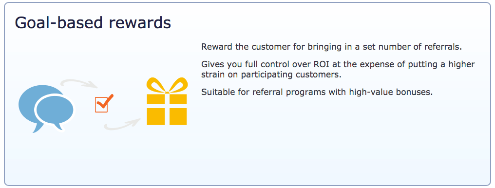 InviteBox referral campaign goal-based-rewards